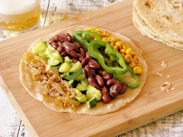 Tortillas au blé et accompagnement pour tacos - le carnet sur l'étagère