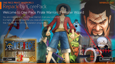 Cara Install Game One Piece: Pirate Warriors 3 3