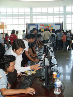 BarCamp Yangon Myanmar Main Hall