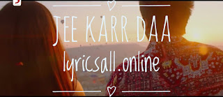 """""""Jee karr daa """" song to set as your caller tune info"""