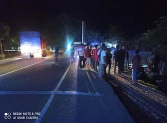 Breaking News, Kecelakaan Malam Jumat, Dua Gadis Meninggal