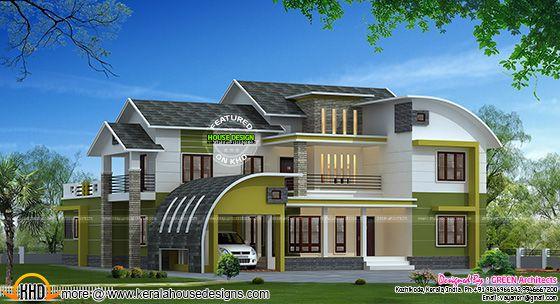 Modern mix house