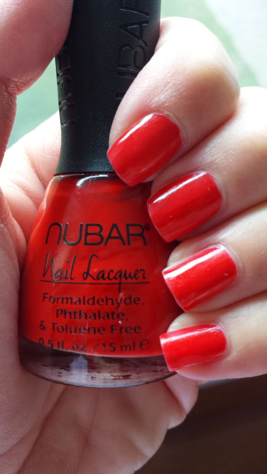 nubar nail polish in Love American Style