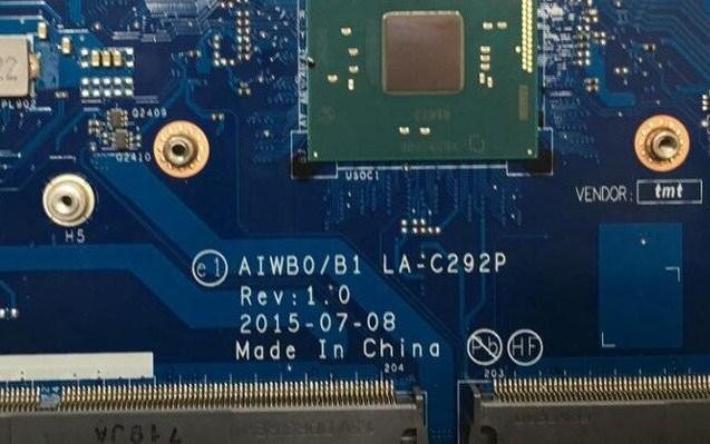 LA-C292P Rev1.0 AIWB0-B1 Lenovo B41-30, B51-30 Bios