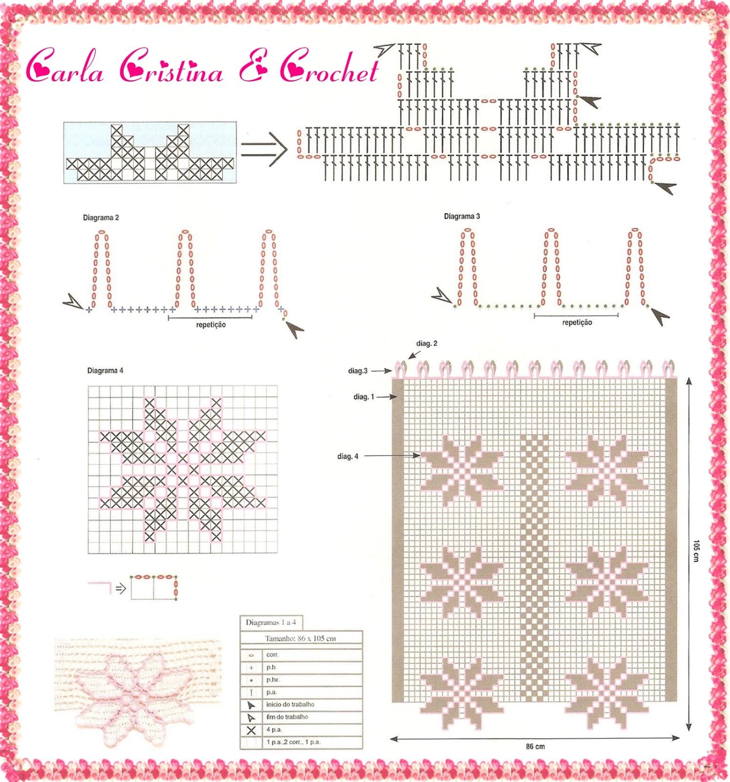 Cortinas De Croche Para Quarto Com Graficos Nchome Info