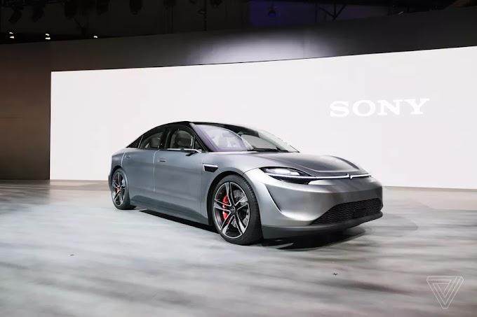 Sony memperkenalkan Vision-S, Prototipe kendaraan pertama dari SONY