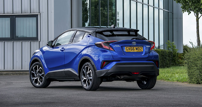 Toyota C-HR rear view