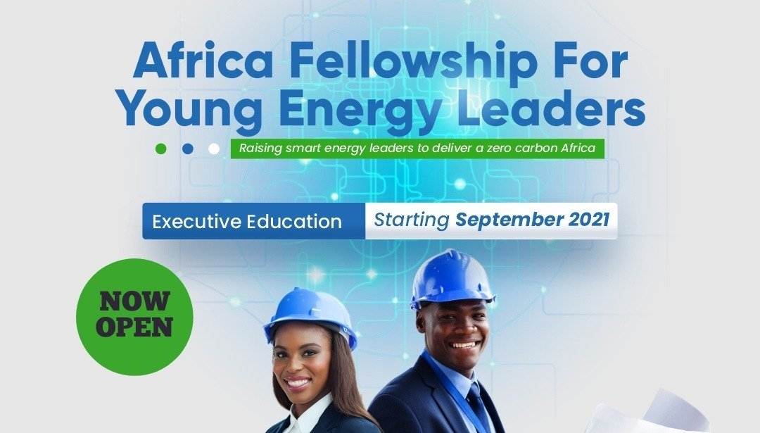 Fully-funded Africa Fellowship for Young Energy Leaders – AFYEL 2021