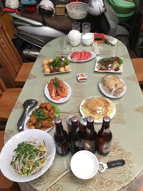 Nấu cỗ tại nhà ở Thanh Xuân