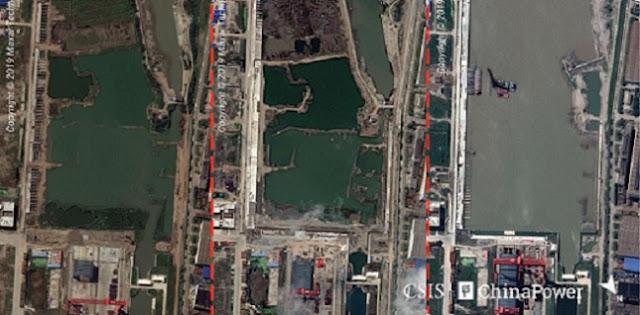 China Kepergok Tengah Bangun Kapal Induk Besar