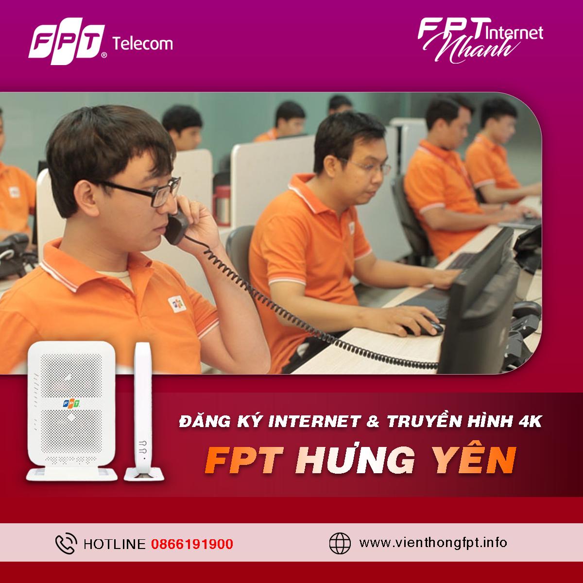 Tổng đài Đăng ký Internet FPT Hưng Yên