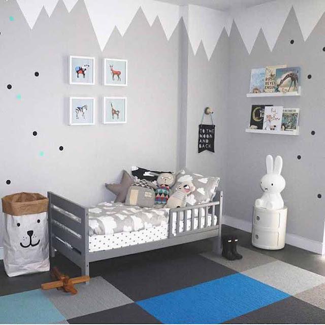 Desain Kamar Tidur Anak yang Tidak Banyak Biaya