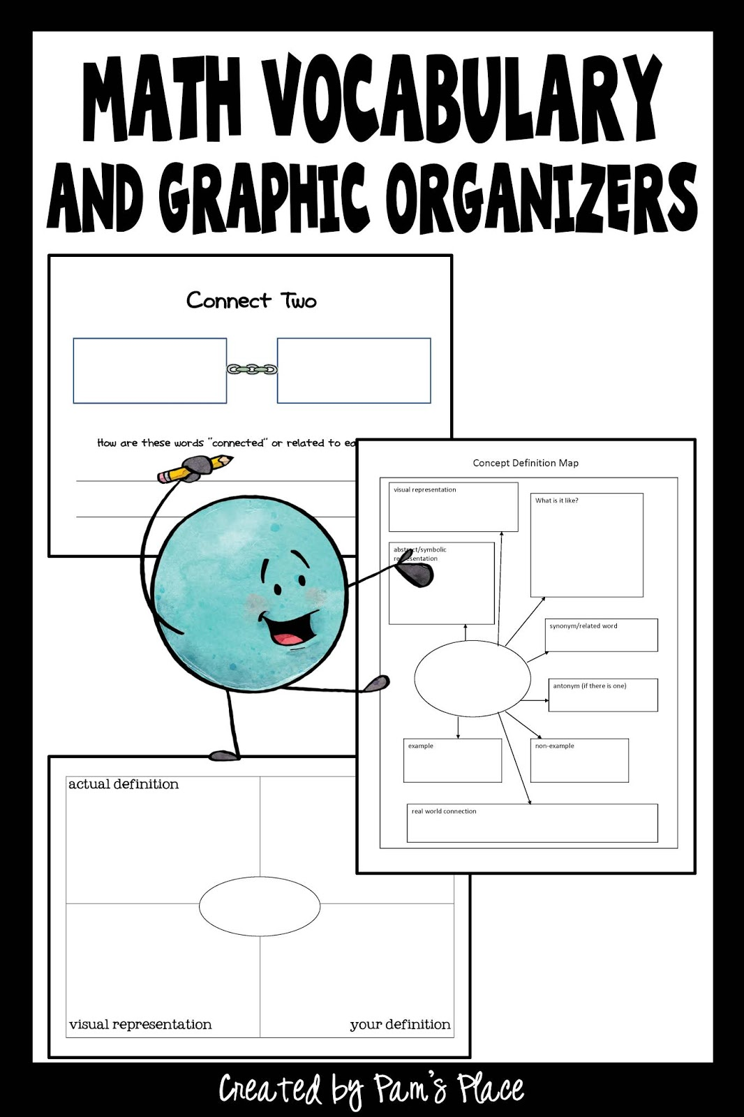 Graphic Organizers For Math Vocabulary