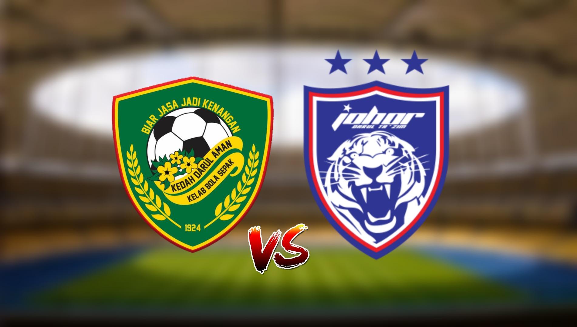 Live Streaming Kedah Darul Aman FC vs JDT FC Liga Super 4.5.2021