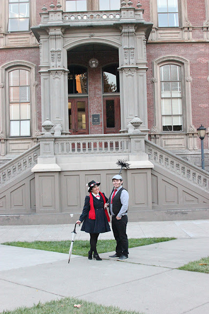 Mary Poppins and Bert the Chimney Sweep Disneybound Couples Costume | Will Bake for Shoes