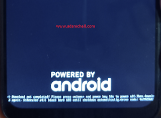 Cara Atasi Oppo Realme = Download Not Completed! Error Code 0x992566