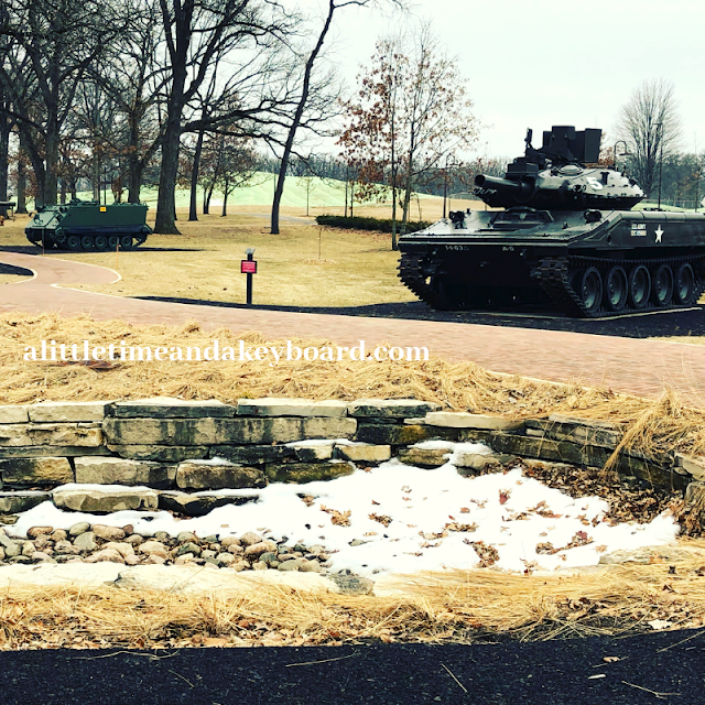 The Tank Park at Cantigny Park takes you through the history of the tank from WWI through Desert Storm.