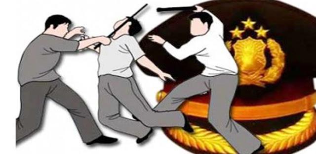 Polisi Dikeroyok 2 Pelajar Usai Demo, Barang Korban Dijarah, Dijual di Internet