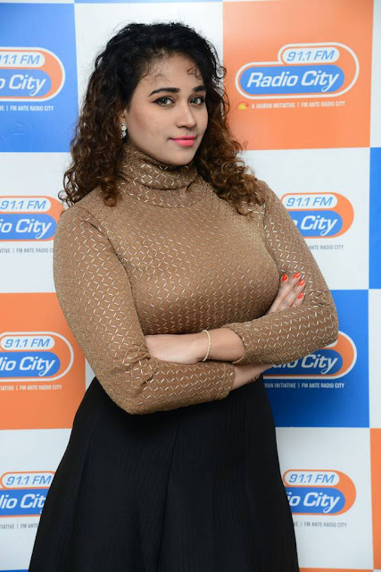 Jayathi Stills At Lacchi Movie 2nd Song Launch At Radio City