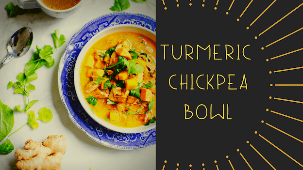 Turmeric Chickpea Bowl Recipe