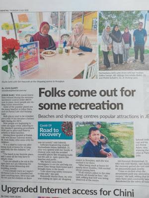 Sunah Sakura in the paper