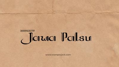 Jawa-Palsu