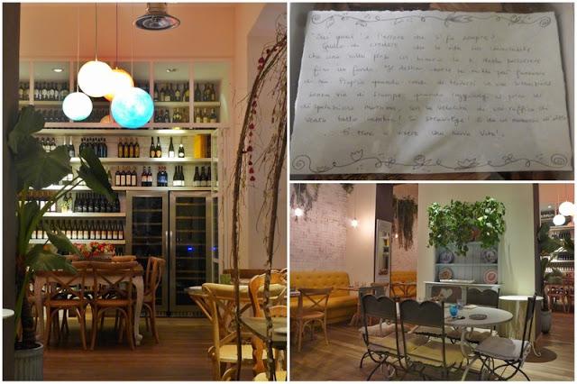 Restaurante Misticanza en Roma