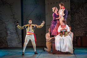 Bernstein: Candide - Peter Brathwaite, Fflur Wyn, Robin Bailey, Katharine Marriot - West Green House Opera (Photo Matthew William Ellis)*