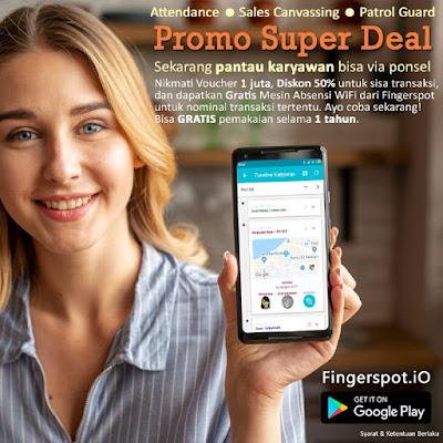 Promo Super Deal Fingerspot.iO