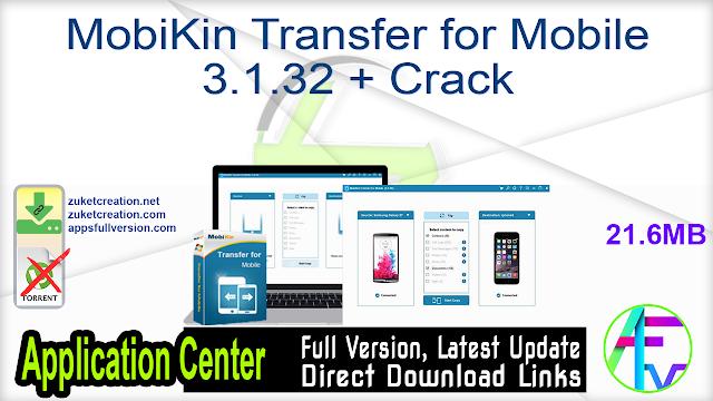 MobiKin Transfer for Mobile 3.1.32 + Crack