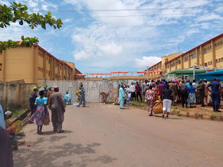 LG Pensioners Protest Gratuities, Late Payment of Monthly Pensions Among Others