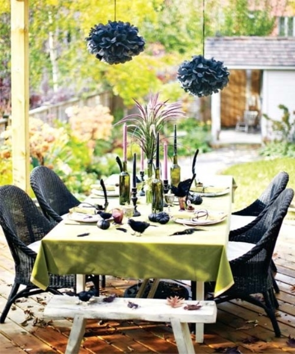 outdoor halloween decor - Outdoor Halloween Party