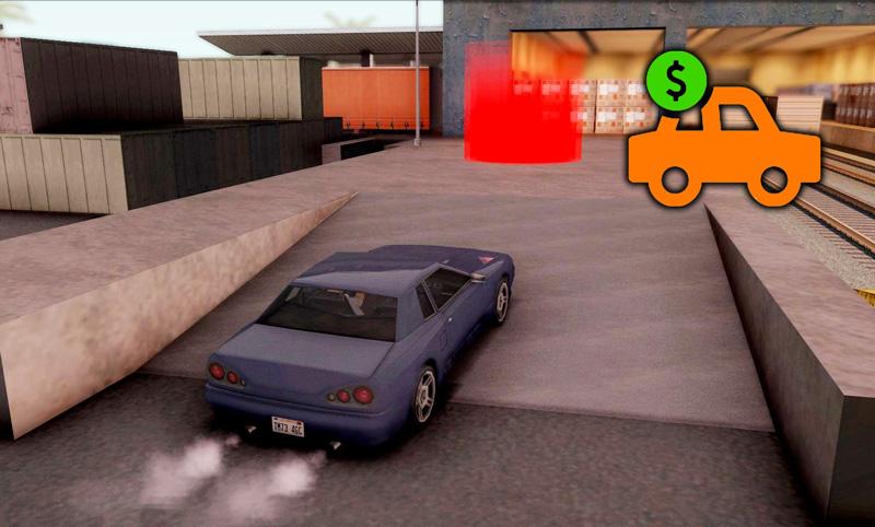 Selling Vehicles Mod For GTA SA