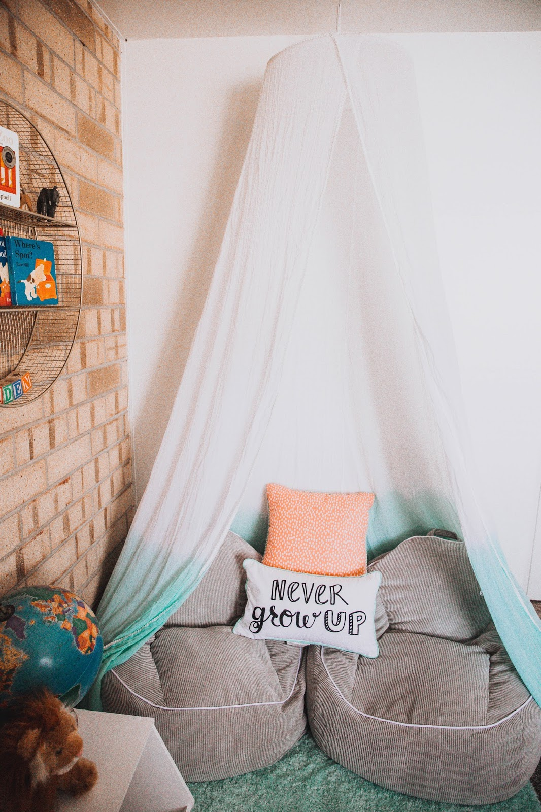 Reading Nook For Z With Pillowfort Dearest Lou