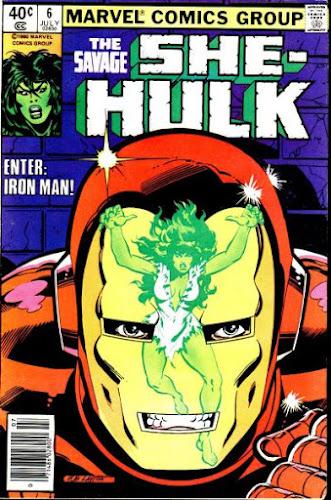 She-Hulk #6, Iron Man