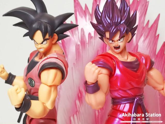 Review de S.H.Figuarts Son Goku KAIOKEN + Aura Roja - Tamashii Nations