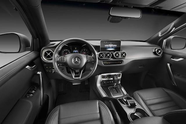 Mercedes-Benz Classe X - Brasil