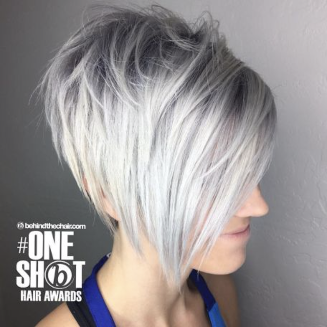 long pixie cut for thin hair