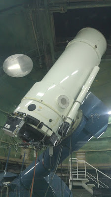 הטלסקופ הראשי במצפה הכוכבם וויז מצפה רמון