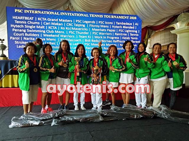 Tim Beregu Putri Narita Araya Kampiun di Malaysia