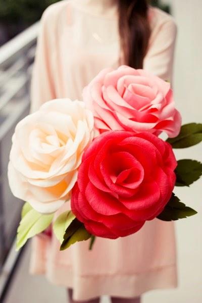 Kompilasi Diy Tutorial Bunga Cantik Dari Kertas She Nisa