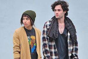 Penn Badgley and Zoe Kravitz parted