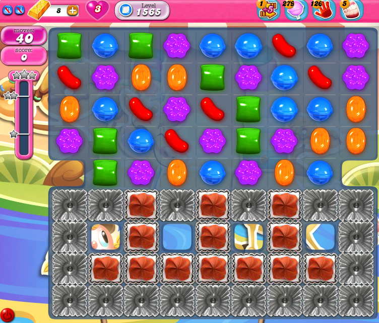 Candy Crush Saga 1565