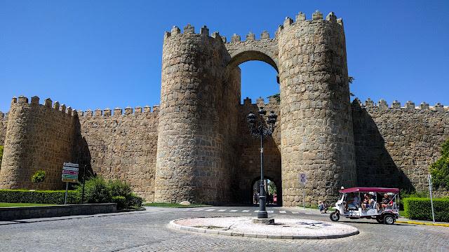 muralla medieval Ávila