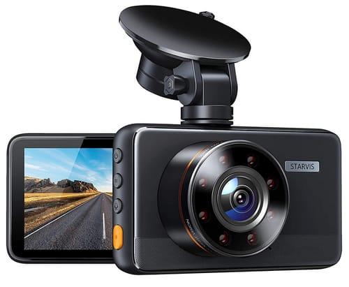 DICamera C660 Dash Cam Superior Night Vision with 8 IR Lights