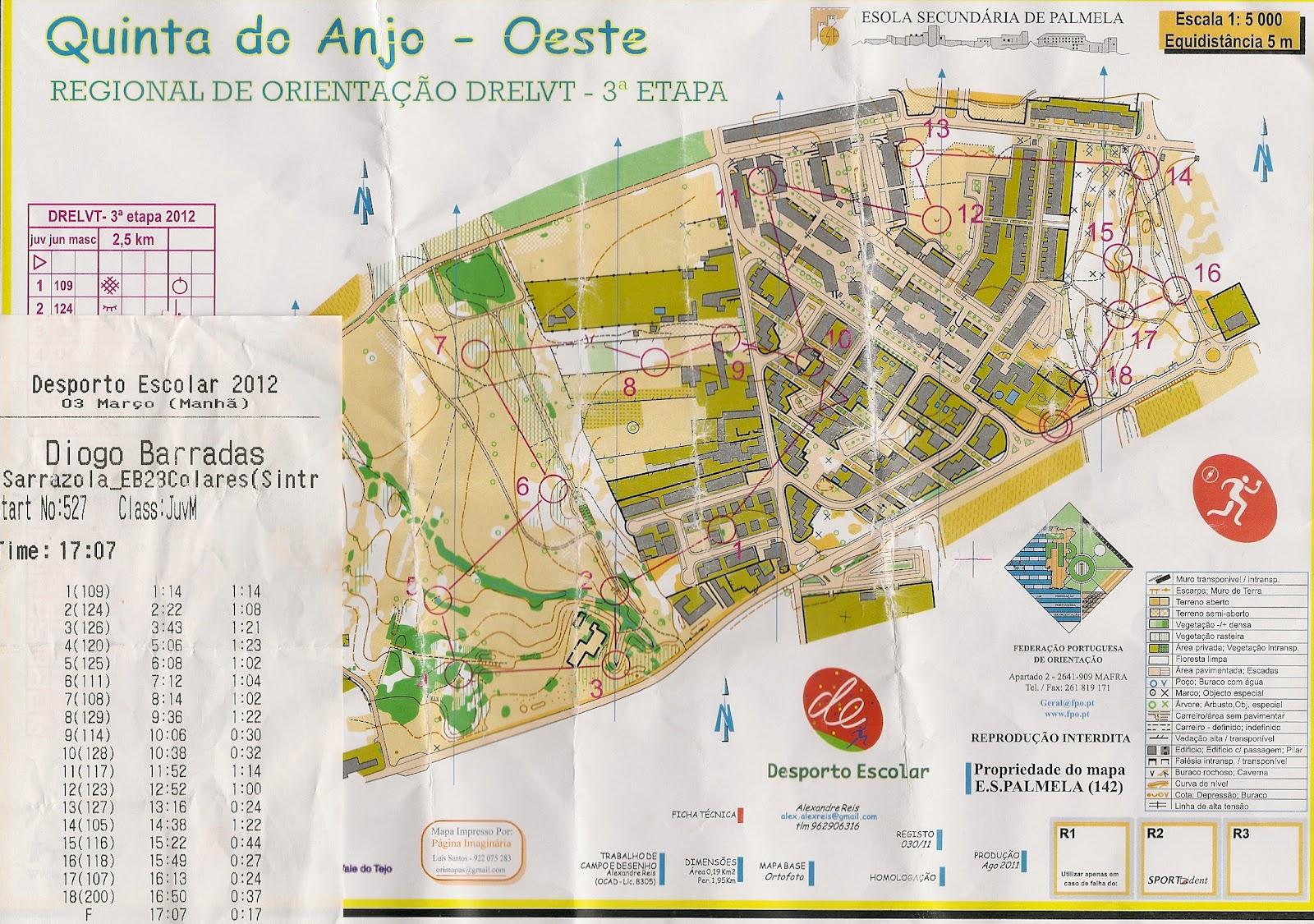 alcoitão mapa Orienta Bonito: It's my life ! Orienteering alcoitão mapa