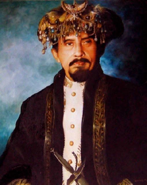 Gambar Sultan Mudaffar Syah II