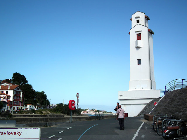 Lighthouse designed by Andre Pavlovsky, Saint Jean de Luz, Pyrenees-Atlantiques. France. Photographed by Susan Walter. Tour the Loire Valley with a classic car and a private guide.