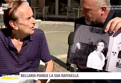 Italo Angelini il fotografo di Raffaella Carrà oggi