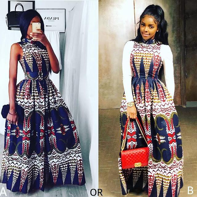 2019 Cute and Fabulous Ankara Gown Styles
